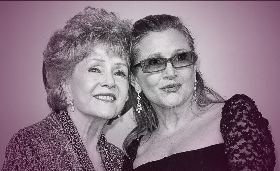 Carrie Fisher and Debbie Reynolds Shared Tombstone Is Instant Hollywood Landmark