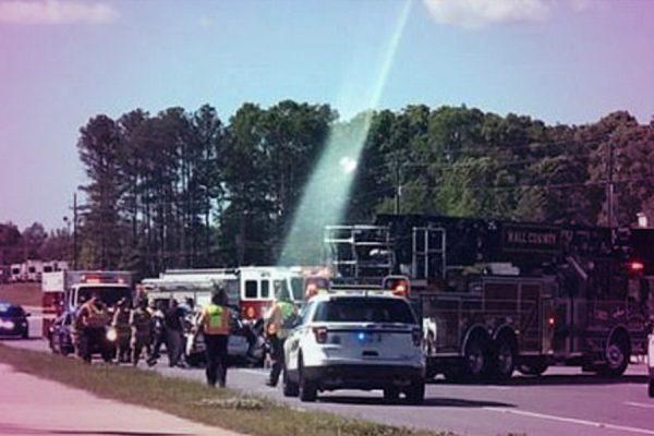 Photo Of A Fatal Car Crash Scene Gives Hope Of Afterlife