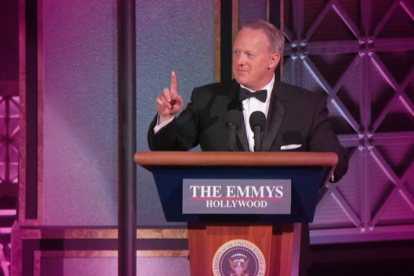 Angry Viewers Were Not Amused By Sean Spicer's Emmy Appearance