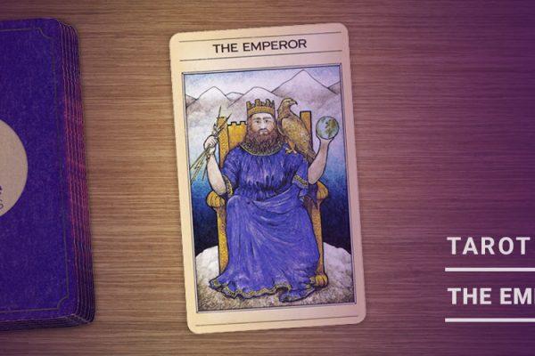 The Emperor Tarot Card - 1000x500