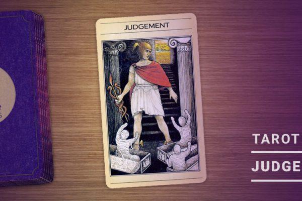 Judgement Tarot Card 1000 x 500