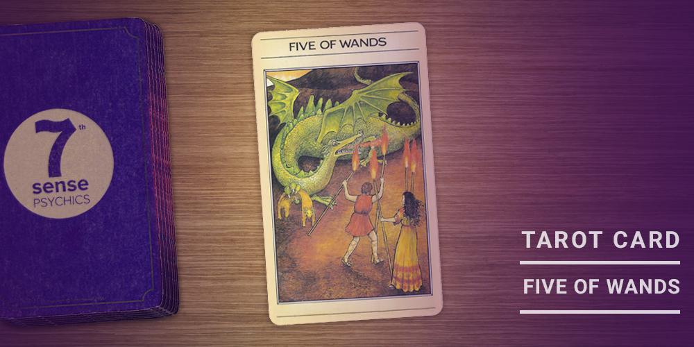 Five of wands tarot