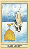Ace of Cups (Inverted)