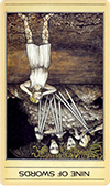 Nine of Swords (Inverted)