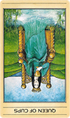 Queen of Cups: Inverted