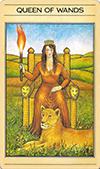 Queen of Wands (Inverted)