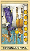 Seven of Pentacles (Inverted)
