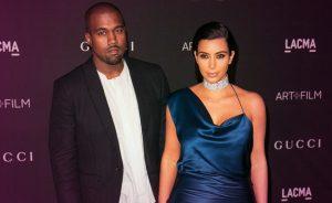 Celebrity Couples Kim Kardashian and Kanye West